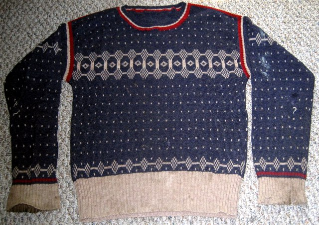 Short Stuff Sweater by Michael Elkan