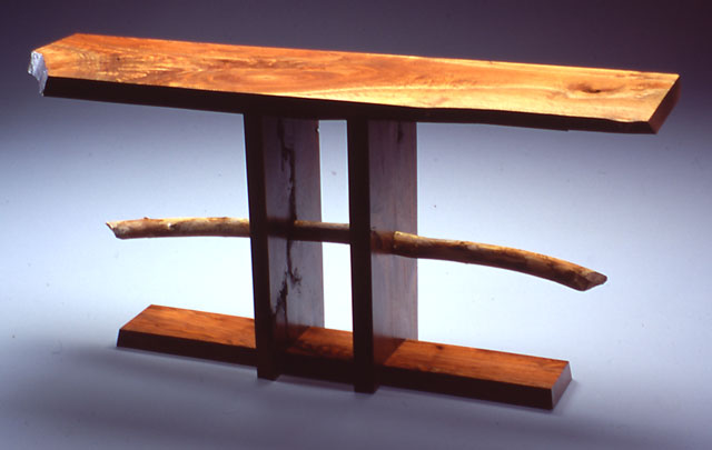 Beaver's Folly Table in Walnut by Michael Elkan