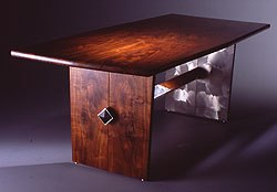 Opposites Attraction Table by Michael Elkan and David Kotter -- click for more furniture